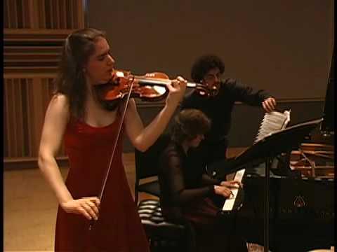 Enescu Sonata No.3 Kathrin ten Hagen, Dina Vainshtein 2nd Mvt