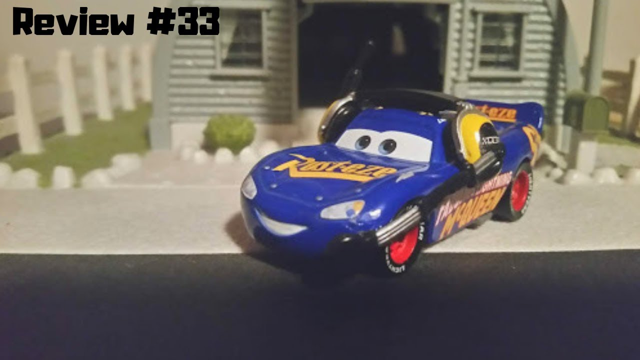 Disney Cars 3 Custom Fabulous Lightning Mcqueen With Headset
