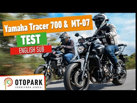 TEST | Yamaha Tracer 700 & MT-07 [English Subtitled]