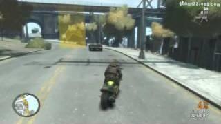 GTA IV - Bike Race, New Track! - GTA Race!