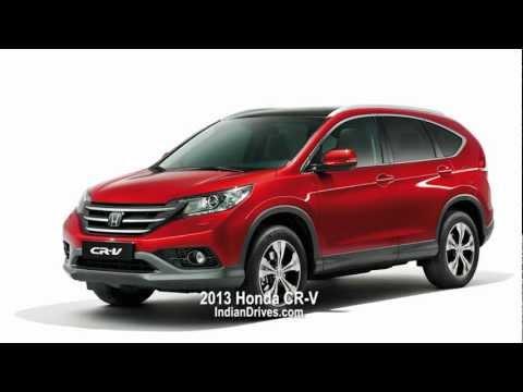 2013 Honda CR-V - Unveiled