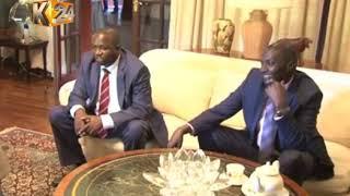 Rais mstaafu Moi akutana na Raila nyumbani kwake Kabarak