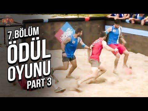 Ödül Oyunu 3. Part | 7. Bölüm | Survivor Türkiye - Yunanistan