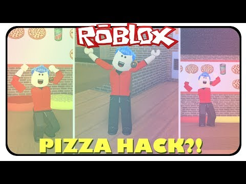 PIZZA HACK?! ✔️ - Roblox Work at a Pizza Place!