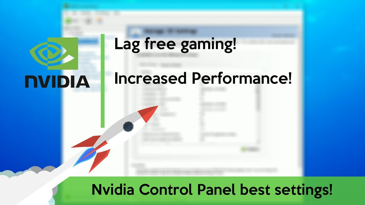 How to Optimize Nvidia Control Panel for Gaming (best settings)