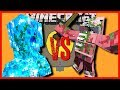 Minecraft - CHARGED CREEPER TITAN VS SNOW GOLEM, SPIDER AND ZOMBIE PIGMAN TITANS