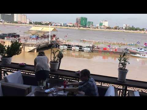 Nouvel An Khmer Au Cambodge (Restaurant Titanique)