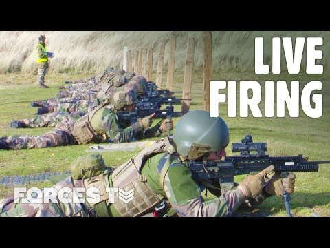 Why British Soldiers Are Showing France's Elite Mountain Infantry The SA-80 • 2 SCOTS | Forces TV