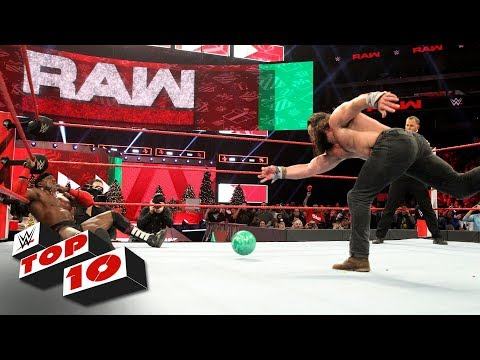 Top 10 Raw moments: WWE Top 10, December 24, 2018
