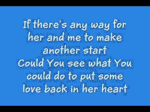 The Man I Want To Be - Chris Young (lyrics)