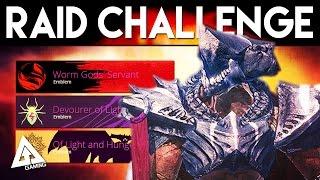 Destiny King's Fall Raid Challenge Mode Coming Soon!