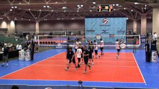 D1 v. SMBC 3/3 - 2011 USAV Boys Junior National Championships