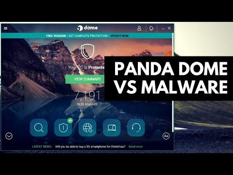 Panda Dome Free Antivirus Review   Test vs Malware