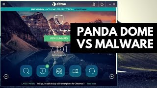 Panda Dome Free Antivirus Review | Test vs Malware