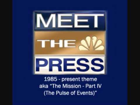 """NBC's Meet the Press theme - aka """"The Mission Part IV (The Pulse of Events)"""""""