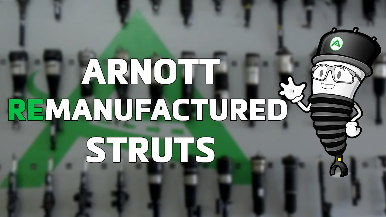 New 1- Min Video Shows Arnott's Remanufacturing Process