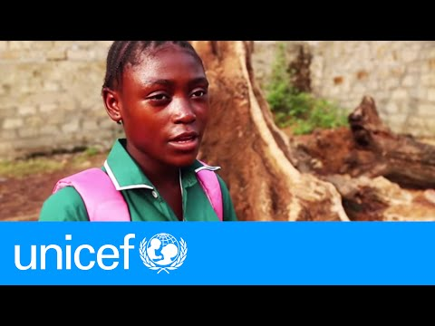 After Ebola loss, a girl shares her hopes | UNICEF