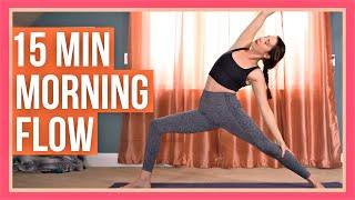 15 Min Morning Yoga Flow - ENERGIZING MORNING YOGA