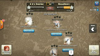 5 Min Clan War! CLASH OF CLANS!