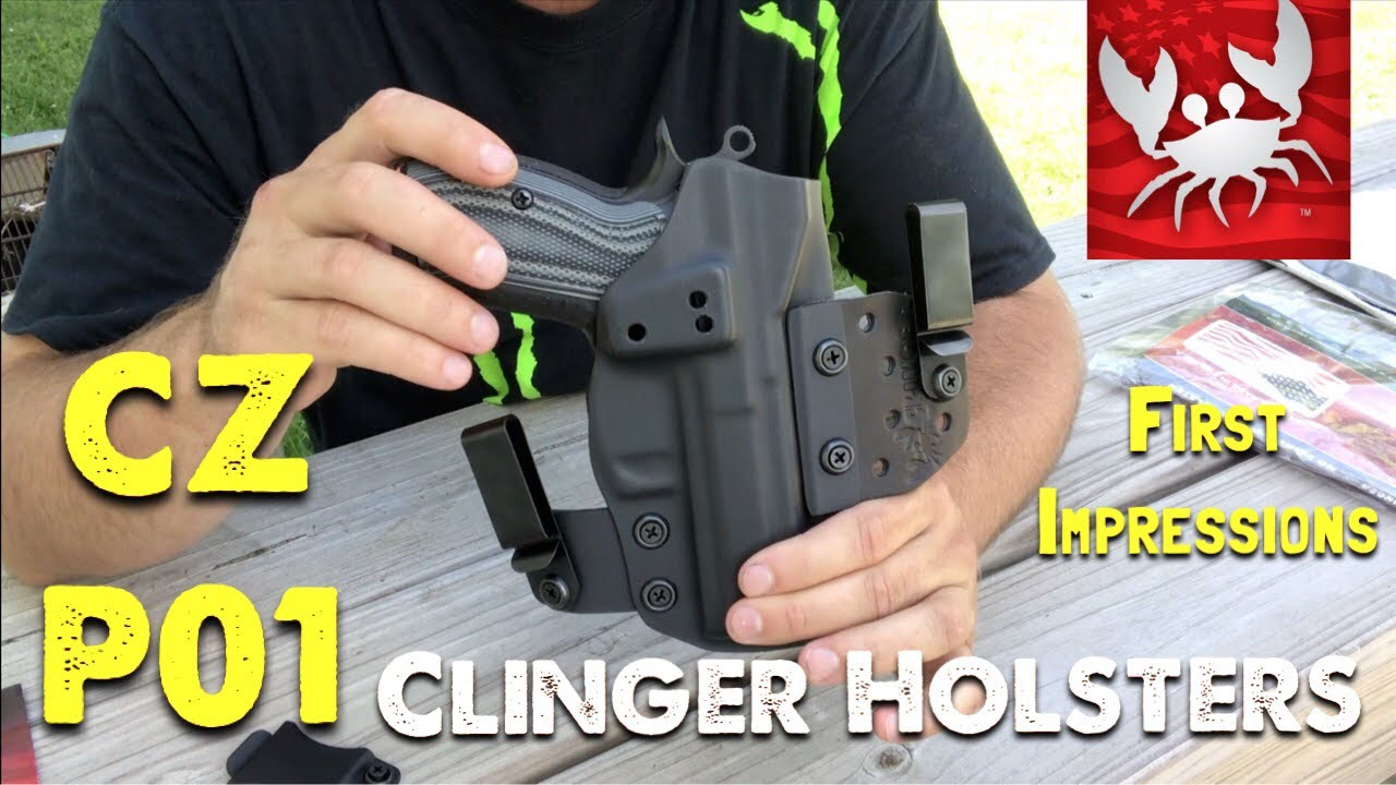 FINALLY   I Can Carry My CZ P-01 | Clinger Holsters