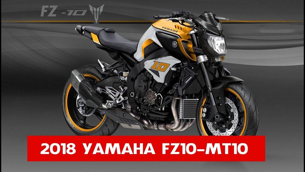 moto yamaha modele 2018