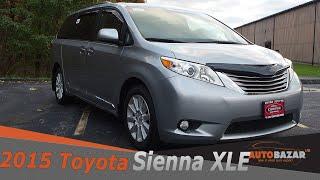 2015 Toyota Sienna XLE AWD видео. Обзор б/у Тойота Сиенна 2015 на русском. Авто из США.