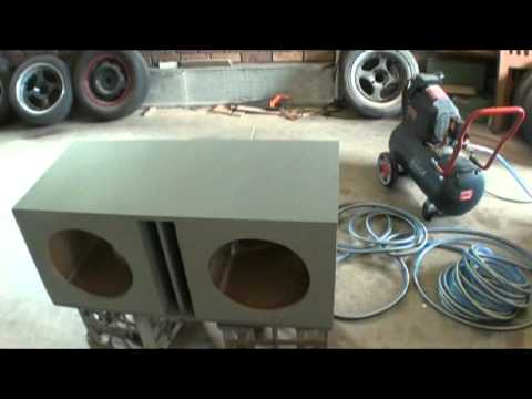 2 DD 512 Sub Box Built Pt 2 - Painting and Install