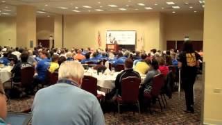 Illinois Senate President John Cullerton addresses Democratic Party leadership, 8-14-2013