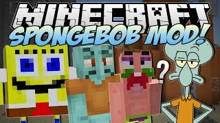 Minecraft | SPONGEBOB MOD! (I Saved Bikini Bottom!) | Mod Showcase