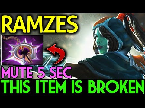 5 Sec MUTE! THIS ITEM IS BROKEN | Phantom Assassin by Ramzes Dota 2 7.07