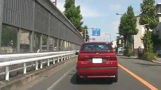 尻手黒川道路(片平2丁目→野川) 5倍速