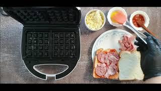 이젠 피자 시켜 먹지마!! 집에서 와플기계로 피자빵 만…