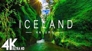 ISLANDIA 4K UHD  Música relajante junto con hermosos videos de la naturaleza  Video 4K Ultra HD