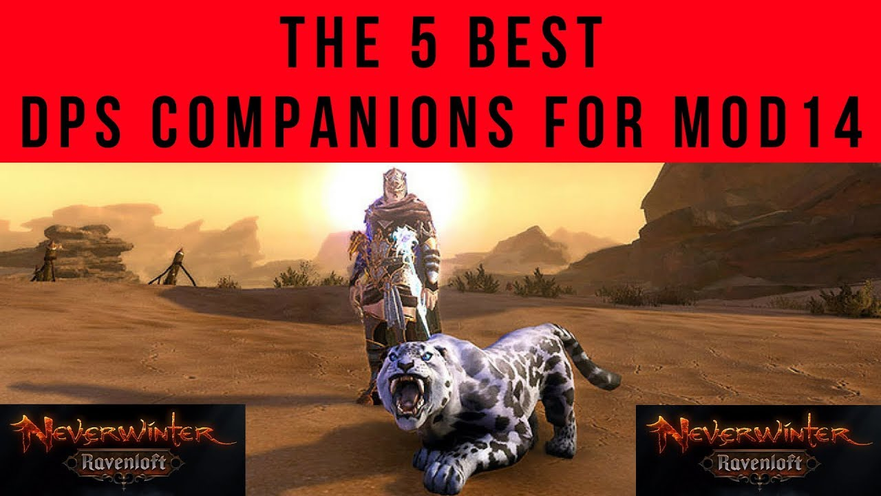 The 5 BEST Companions To Run For DPS Classes In Mod 14 Neverwinter Ravenloft