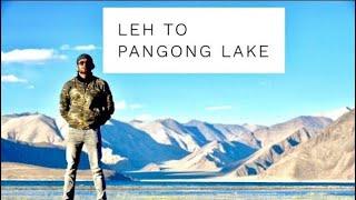 Episode - 3 Leh to Pangong Lake || Changla Pass || Spangmik || Man Village || Solo Bike travel
