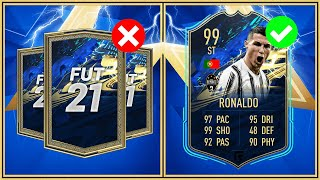 5 THINGS NOT TO DO DURING FIFA 21 TOTS!