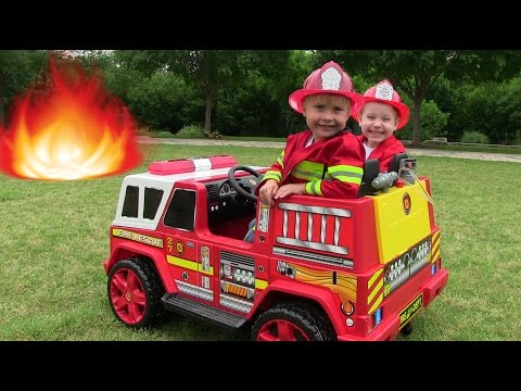 Little Heroes 2 - The New Fire Engine, The Mayor and The Spark