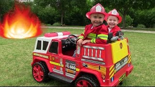Video Little Heroes 2 - The New Fire Engine, The Mayor and The Spark download MP3, 3GP, MP4, WEBM, AVI, FLV November 2017