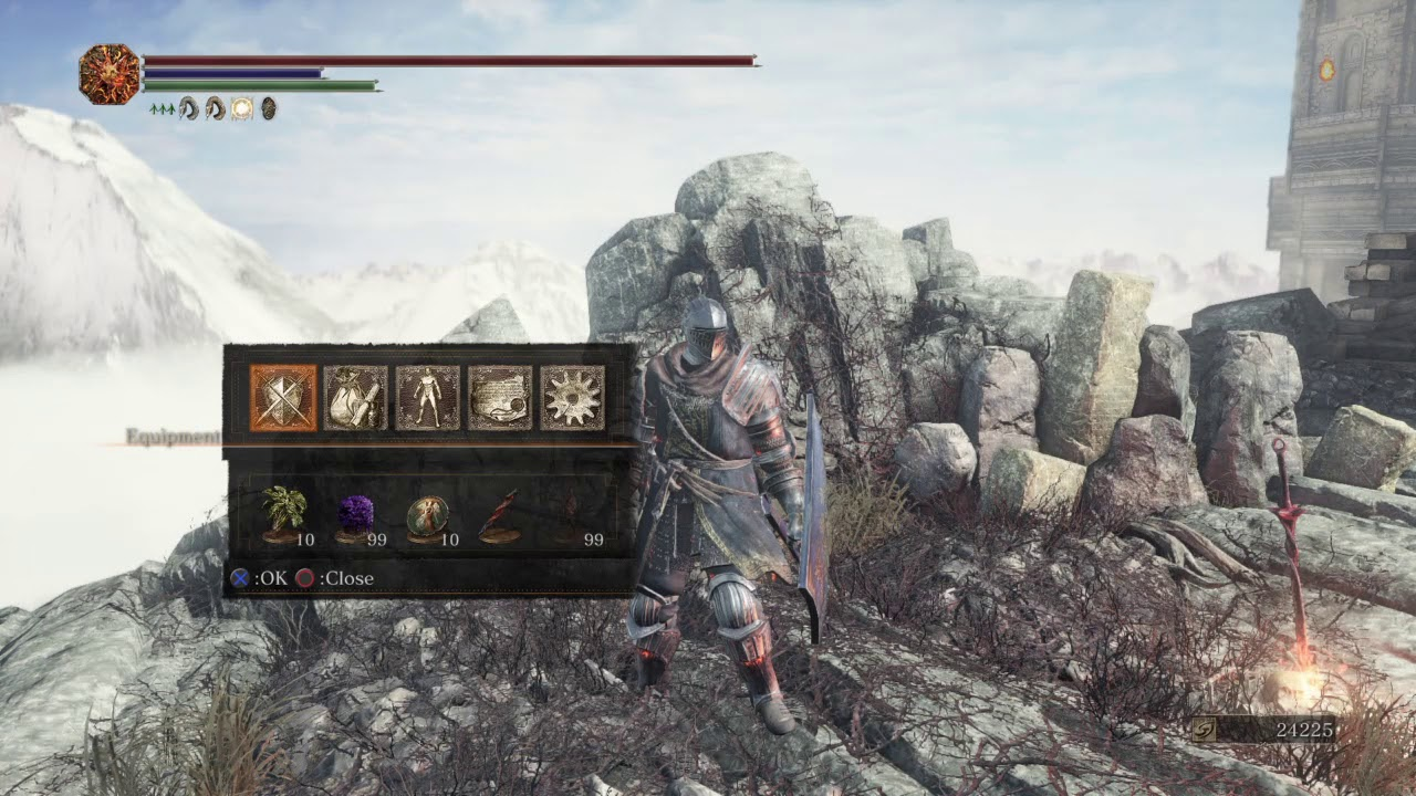 is elite knight armor good dark souls 3