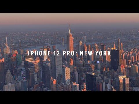 iPhone 12 Pro Cinematic 4K: New York