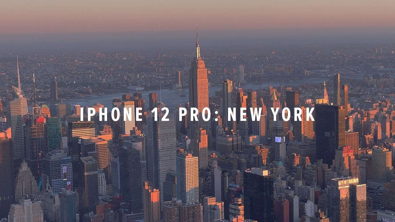 iPhone 12 Pro Cinematic 4K: New York