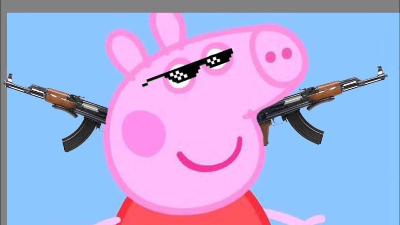 Крутые картинки свинка пеппа, котики видео