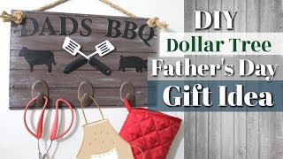 Dollar Tree DIY Father's Day Gift Idea | DIY Fathers Day Gift | Krafts by Katelyn