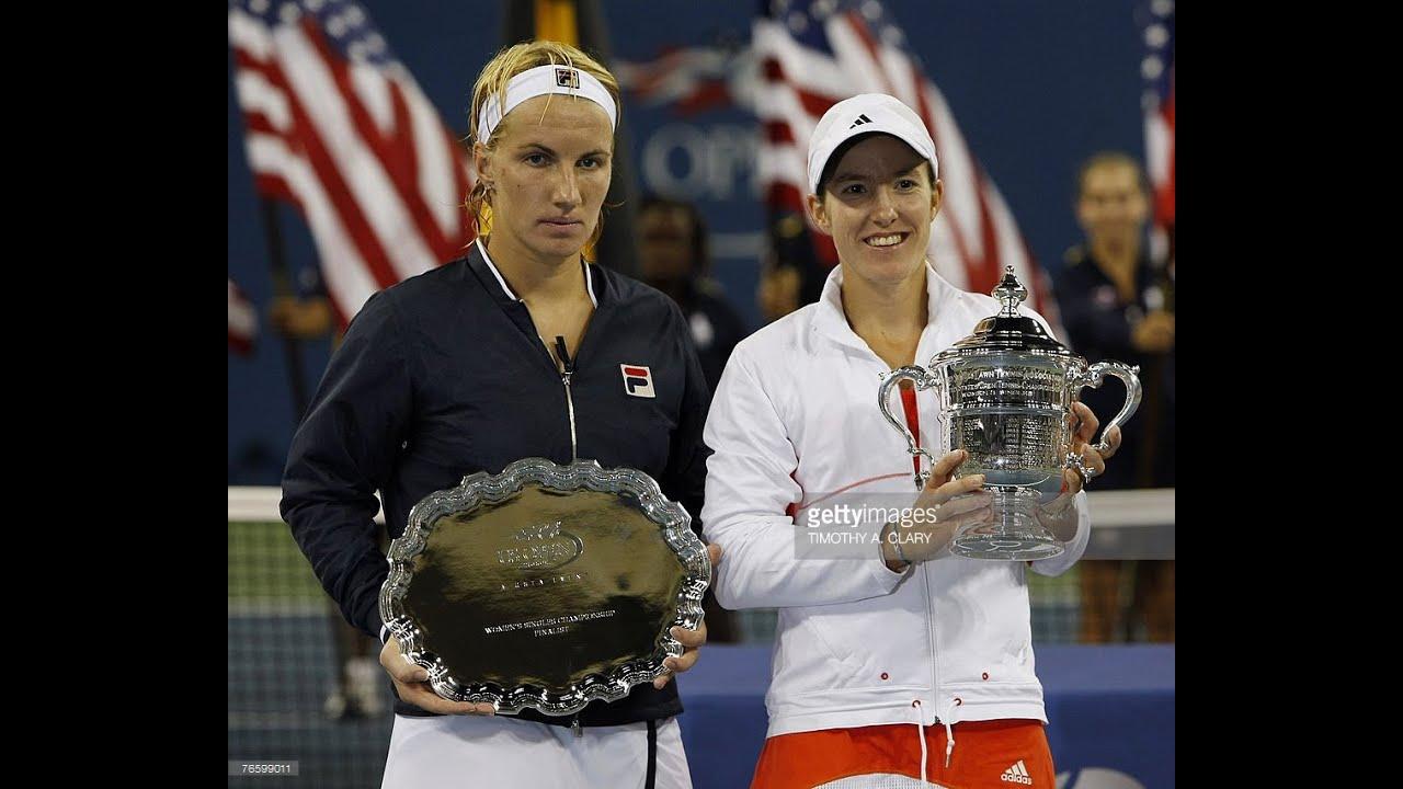 Justine Henin VS Svetlana Kuznetsova Highlight US Open 2007 Final