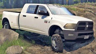 Dodge Ram na Lama - Spin Tires 2014