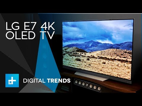 LG E7 4K OLED TV – Hands On Review