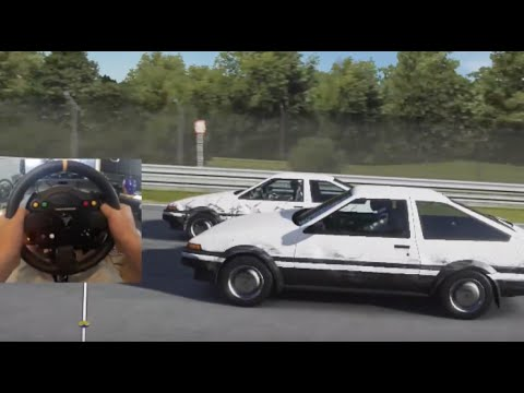 FM5 GoPro Racing Stock AE86 / GT86 's on Nürburgring w/WheelCam