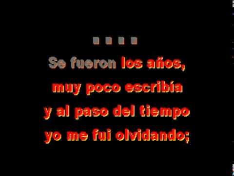 Montez De Durango  Solo Deje A Mi Padre KARAOKE (midi)