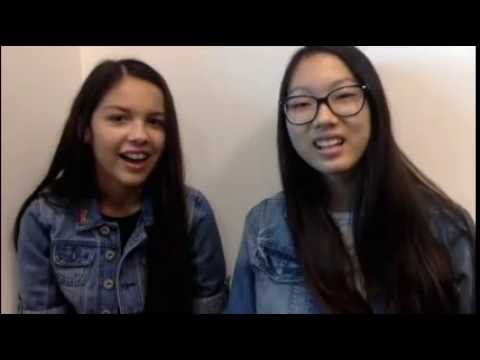 'Bizaardvark' Stars Olivia Rodrigo and Madison Hu – Best Friend Tag