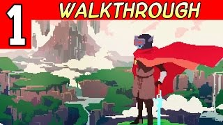 Hyper Light Drifter Walkthrough - part 1 Gameplay 1080p PC / PS4